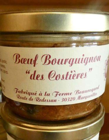 Boeuf Bourguignon des costieres nimes gard