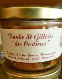 Daube St Gilloise des costières nimes gard