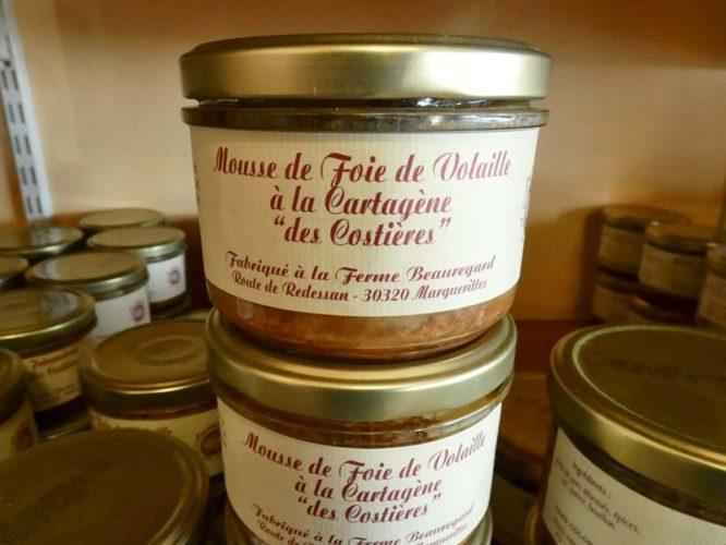 Mousse de foie de volaille à la Cartagène