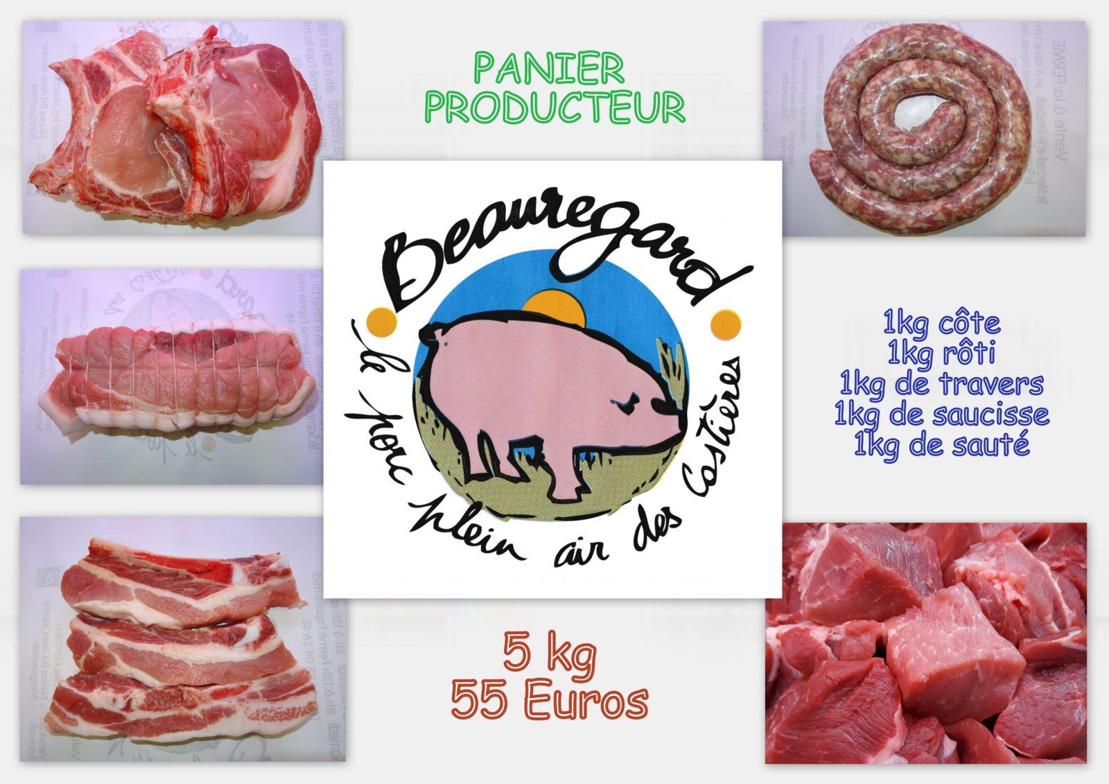 Le Panier Producteur Pur Porc Plein Air des Costières